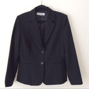 TAHARI  Blazer Black career work wear Sz 12